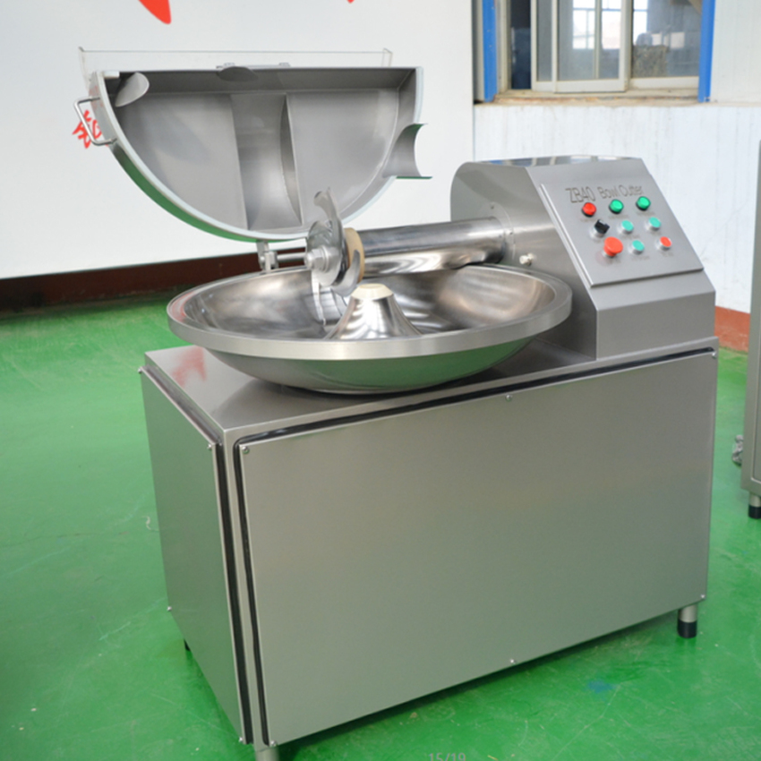 ZB-40 40L Electric Meat Beef Mincing Grinding Machine Frequency Conversion Commercial Automatic Meat Grinder Mixer 5.1kw 380V 3