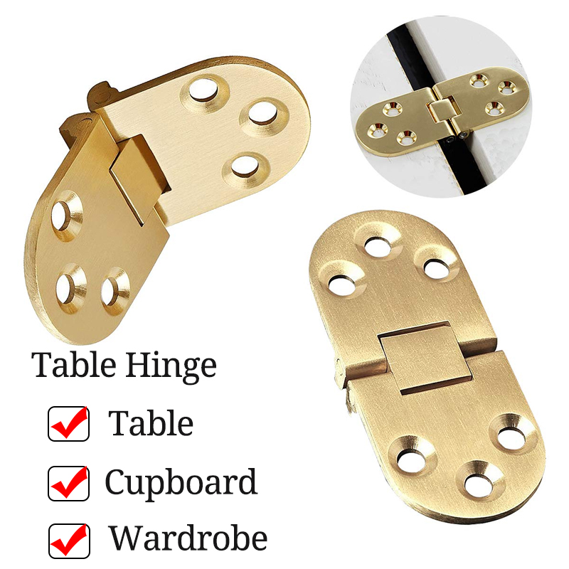 80mmx30mm Zinc Alloy Alloy Metal Hinge Round Edge Sewing Machine Folding Table Furniture Flip Tray Hinges Big Door Hinges
