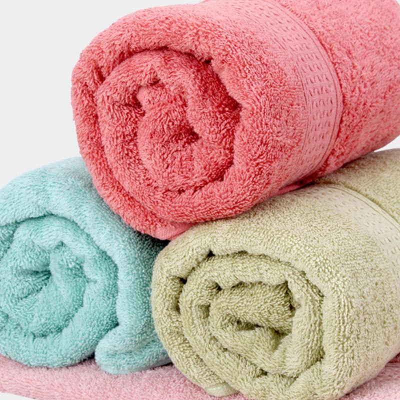 مضاد للجراثيم 100% القطن الصلبة 17 ألوان منشفة استحمام Hot البيع منشفة عالية الامتصاص للماء 1 قطعة للكبار لينة سميكة التجفيف السريع منشفة الشاطئ