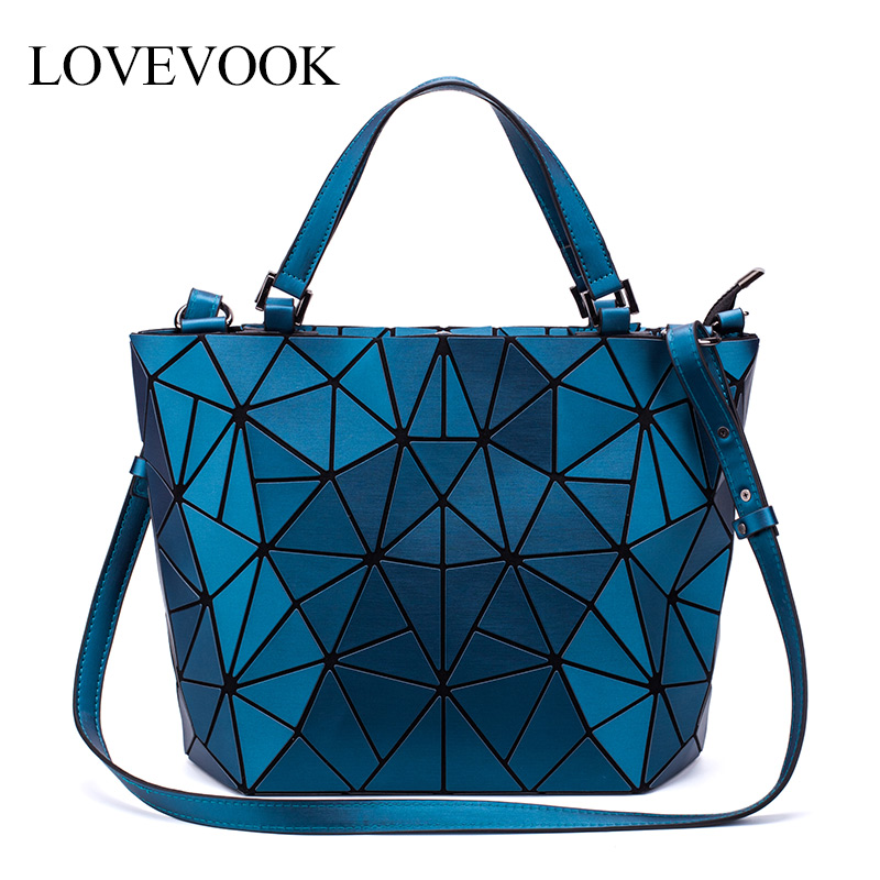 LOVEVOOK Women Shoulder Bags Crossbody Bags For Ladies Foldable Totes Hobo Bag Female Large Capacity Geometric Bag Famous Brand