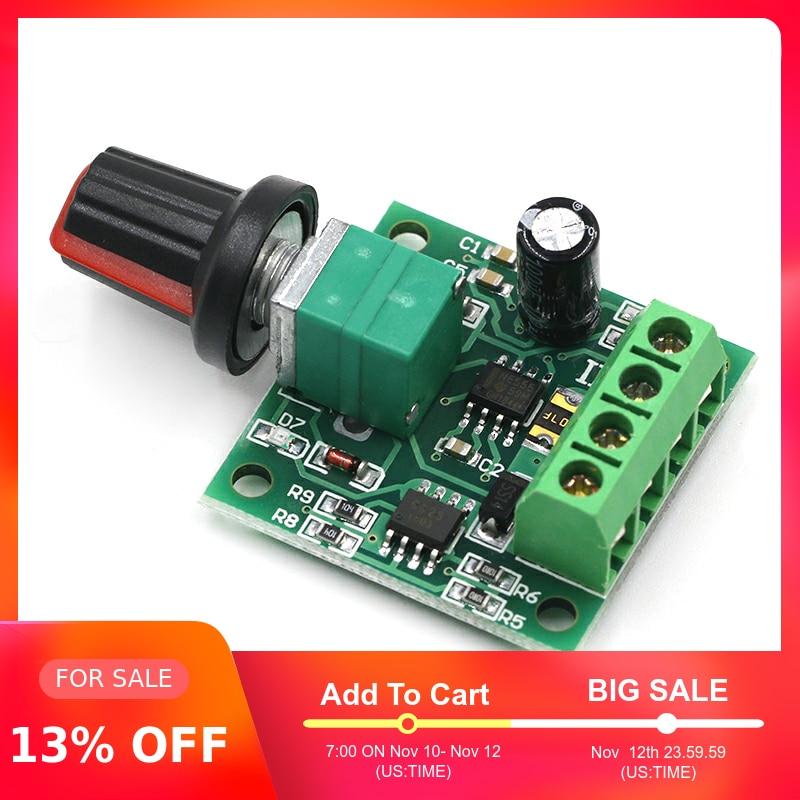 New DC 1.8V 3V 5V 6V 12V 2A PWM Motor Speed Controller Low Voltage Motor Speed Controller PWM 0~100% Adjustable Drive Module
