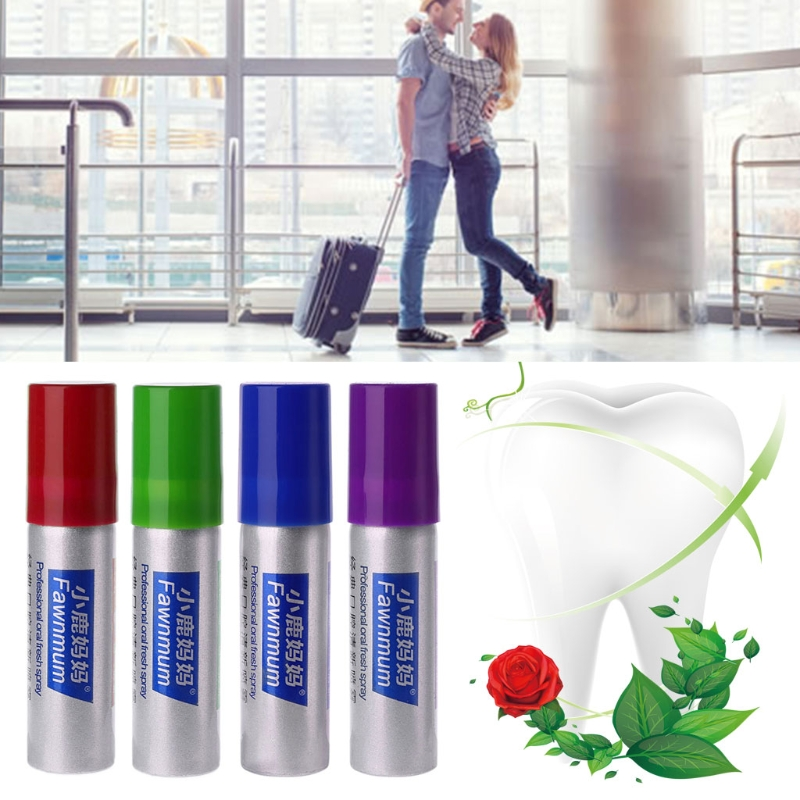 Herbal Mouth Freshener Antibacterial Oral Spray Treatment Fresh Breath 20ml