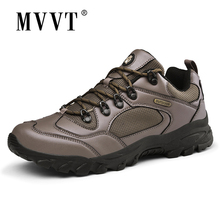 Plus Size 48 Hiking Shoes Men Sneakers Outdoor Athletic Cross-country Trekking