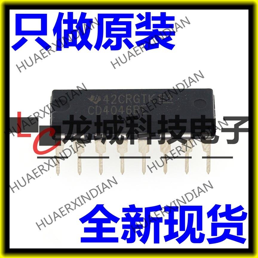 10pcs Original CD4046BE chip phase-locked loop DIP-16