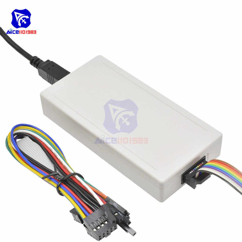 Сетчатый USB-программатор для загрузки diymore, ISP-кабель для загрузки с USB-кабелем, перемычка, провод JTAG Line