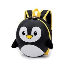New 3D children school bags Cartoon Hard shell backpack for children for girls mochila infantil penguin school backpack for boy