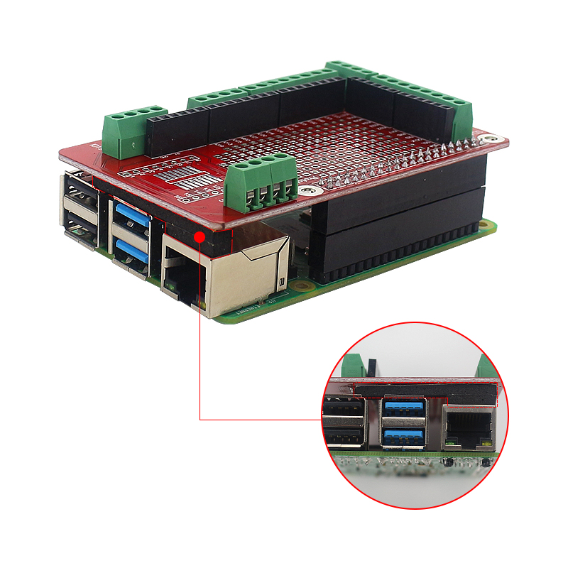 lowest price Raspberry Pi Extension Board Accessories Prototype Board GPIO Expansion Plate for Raspberry Pi 4 Model B 3B  3B