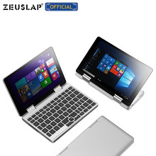 ZEUSLAP Co-branded Ultraportable 8 inch Laptop Pocket PC 8GB RAM 128GB SSD 360° Rotating Touch Screen 2-in-1 on-the-go Laptop