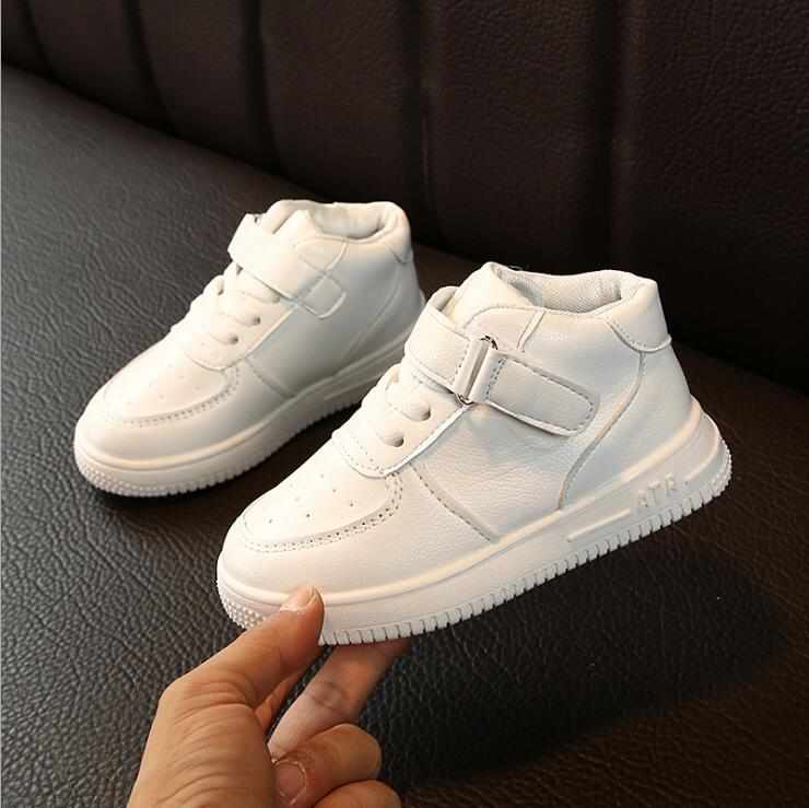 Kids Sneakers For Boy Girl New Spring Autumn Children's Baby White Casual Soft Flat Shoes Kids Chaussure Enfant