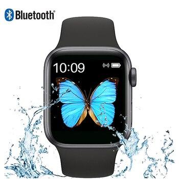 цена на 2020 Smart Watch Men Women Bluetooth Call IWO 13 Series 5 Heart Rate Monitor SmartWatch For IOS Android PK IWO 12 Smart Watches