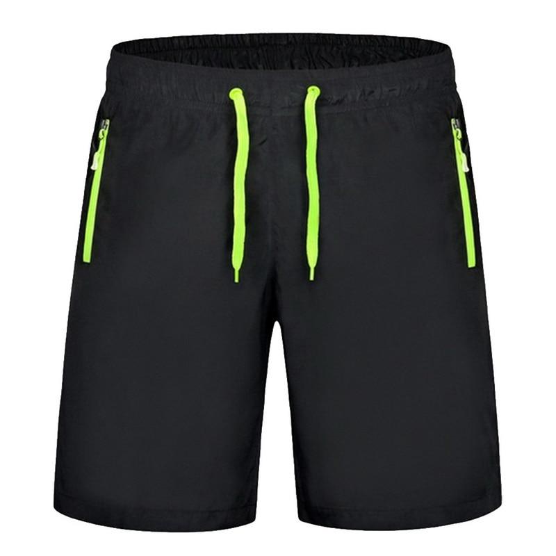 New Summer Mens Shorts Mens Breathable Quick Dry Loose Beach Shorts Male Zipper Pocket Bathing Casual Short Pants Plus Size 8XL