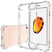Прозрачный мягкий ТПУ чехол s Чехол для Iphone 7 силиконовый чехол Iphone 8 Plus чехол Iphone 7 Plus Полный Чехол кристально чистый для Apple