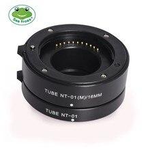 Auto Focus Macro Extension Tube Ring 10mm+16mm for Panasonic lumix Olympus M4/3 Micro 4/3 Camera E M5 E PL6 GX1 GM5 G7 E PL7 G9