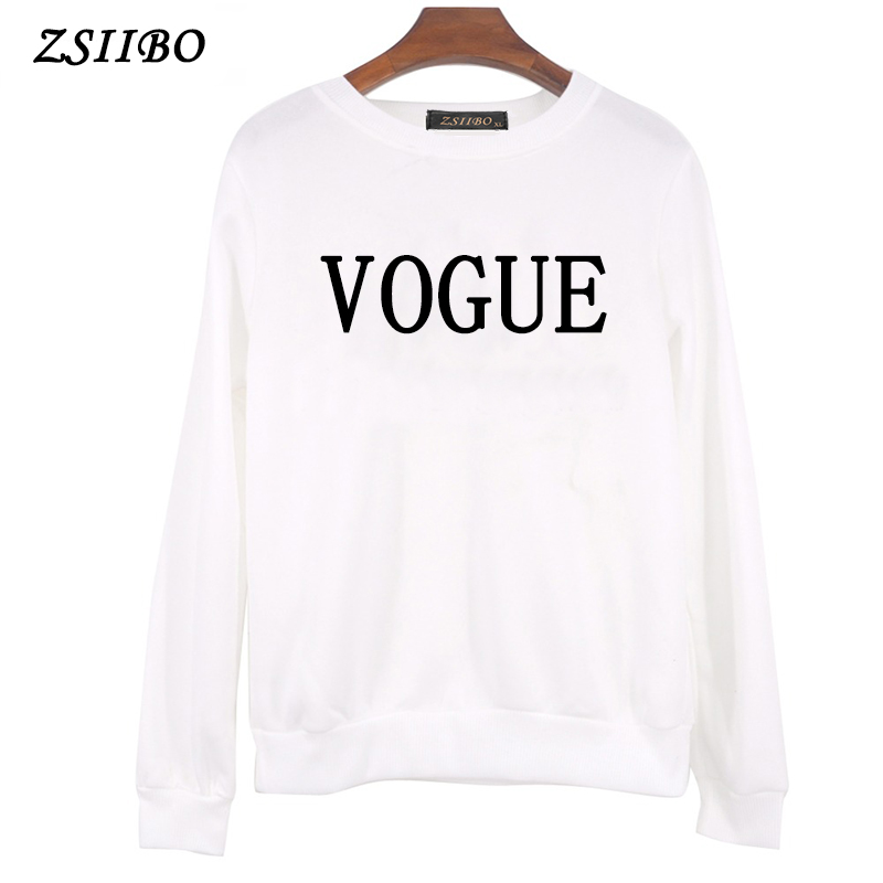 Women Sweaters 2019 Winter Autumn New Fashion VOGUE Printletters female O Neck Pullover Casual top Plus Size ladies trui Clothes 28