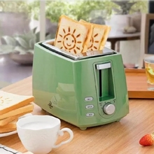 Bread-Baking-Maker Grill Sandwich Toast Electric-Toaster Oven 2-Slice Household Stainless-Steel