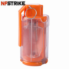 NFSTRIKE Water Gel Balls Water Bullet Bomb for Nerf for Airsoft Tactics Equipment Modified Crystal Water Beads Bomb wholesale(China)