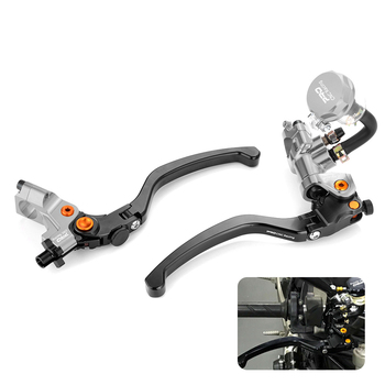 """Universal 7/8"""" 22mm Handle bar Hydraulic Brake Front Clutch Pump Lever for 400cc to 1000cc Street bike Dirt Bike Motorcycle Hot"""