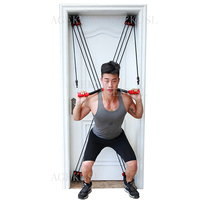 TWTOPSE 210 lbs Pulley Resistance Bands Training Fitness Yoga Tube Pull Rope Universal Door Exercise Tubes Fitness Body Building