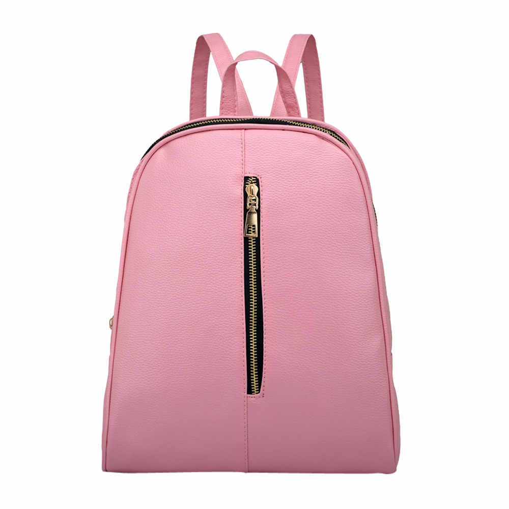 ファッション女性のバックパック高品質ユースレザーバックパック十代の少女女性スクールショルダーバッグ bagpack mochila # Y3