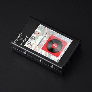 Image 4 - Zishan T1 4497 AK4497EQ المهنية ضياع مشغل موسيقى MP3 HIFI المحمولة DSD الأجهزة فك شاشة تعمل باللمس متوازنة AK4497
