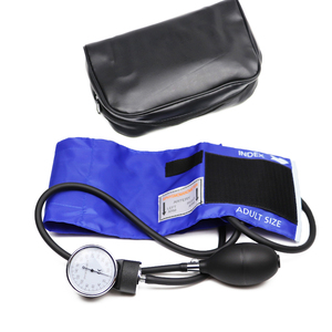 Image 3 - מקצועי למבוגרים ידנית לחץ דם צג BP קאף עליון זרוע אנארוידי מד לחץ דם Tonometer עם מד לחץ