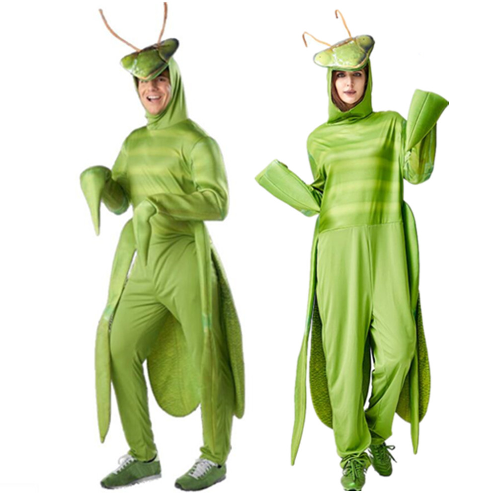 Halloween Costume Men Women Adult Mantis Costume 2020 Fantasia Funny Adult Cosplay Animal Insect Christmas Carnival Party Anime Costumes Aliexpress