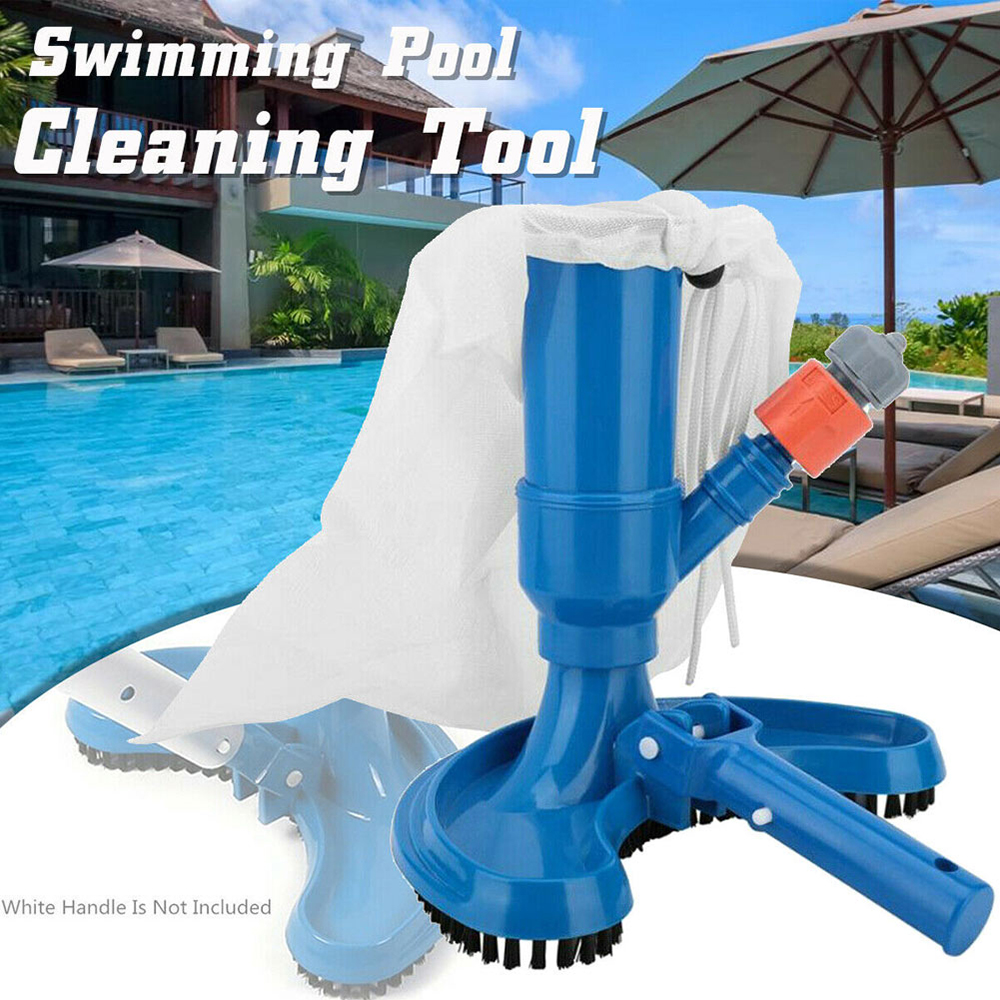 Swimming Pool Vacuum Brush Suction Head Pond Fountain Vacuum Cleaner Cleaning Tool Hot Spring Fishpond Vacuum Brush Cleaner(China)
