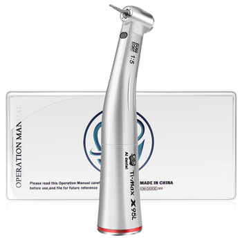 Dentist Clinic Tools 1:5 Increasing Contra Angle Handpiece With Ball Bearing Air Turbine