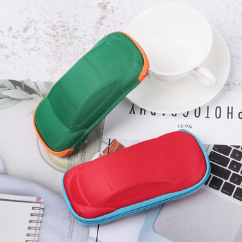 Children Glasses Case Multi-function Lightweight Portable Car Shaped Eyeglasses Box Fashion Eyewear Protector Storage Box image