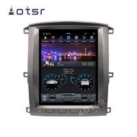 AOTSR Tesla Style Android 9 Car Radio For Lexus LX470 2002 2007 GPS Navigation PX6 Multimedia Player DSP Carplay IPS Autoradio