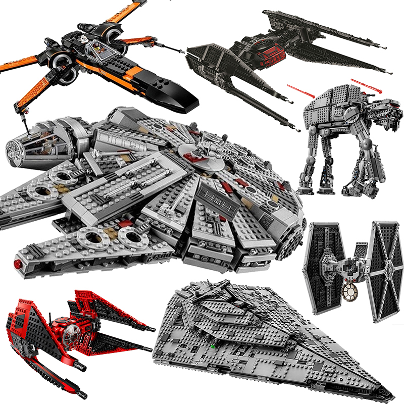 new-star-tie-fighter-microfighters-wars-the-rise-of-skywalker-building-blocks-font-b-starwars-b-font-75257-toys-for-children