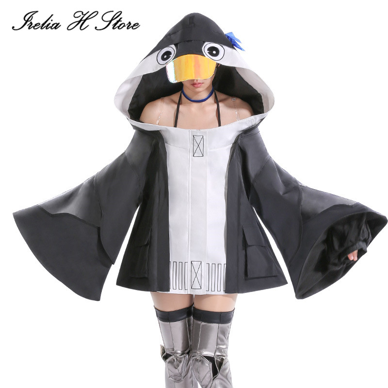 {Stock}Mysterious Alterego FGO Cosplay penguin Mysterious Alterego Cosplay costume daily cute coat dress female 1
