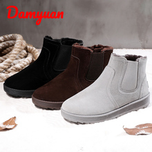 Winter New Mens Snow Boots Warm, Comfortable, Skid-proof, Sweat-proof Sports Shoes Outdoor Walking, Jogging and Leisure