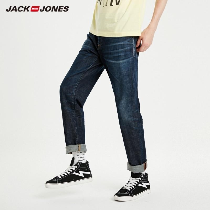 JackJones Men's New Fashion Straight Fit Cotton Jeans Menswear  219132529