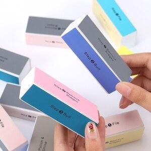 Блок полировки ногтей, 4 способа полировки, пилки для акрилового педикюра, маникюрный блок полировки ногтей
