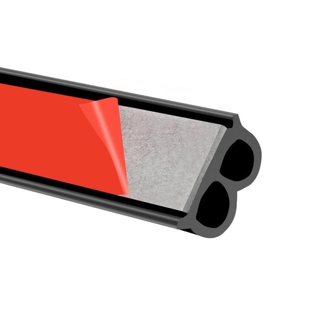 Uniwersalna uszczelka do drzwi samochodowych typu B izolacja hałasu uszczelka Auto uszczelki gumowe do izolacja akustyczna do samochodu