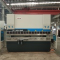 3+1 axis crowing high standard cnc press brake,schneider system brake press metal bending machine