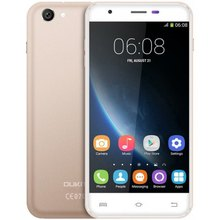 "OUKITEL U7 פרו SmartPhone 1GB RAM 8GB ROM 5.5 ""טלפון MTK6580 Quad Core 1.3GHz אנדרואיד 5.1 8.0MP מצלמה 3G GPS נייד טלפון"