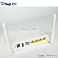 Free shipping new Huawei gpon onu ont HG8546M 1GE 3FE 1USB 1TEL WIFI English firmware, SC UPC interface