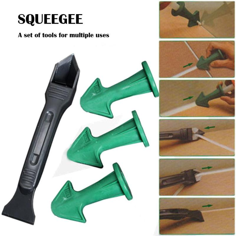 Finishing Durable Floor Clean Eco-friendly Caulking Construction Home Accessories Sealant Tool Rubber Trowel Nozzle