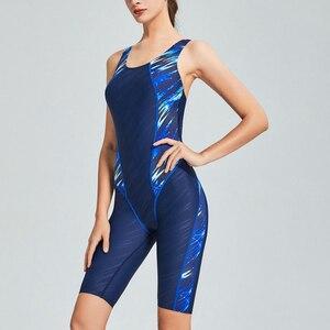 Image 2 - Riseado цельный костюм для плавания 2020, спортивная одежда для плавания для женщин, соревновательная одежда для плавания для мальчиков, лоскутные купальники для женщин