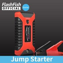 Flash Fish 99800mAh 600A urządzenie do uruchamiania awaryjnego samochodu przenośna zapalniczka 4 USB Power Bank wzmacniacz do akumulatora samochodowego ładowarka rozruchowa urządzenie oświetleniowe