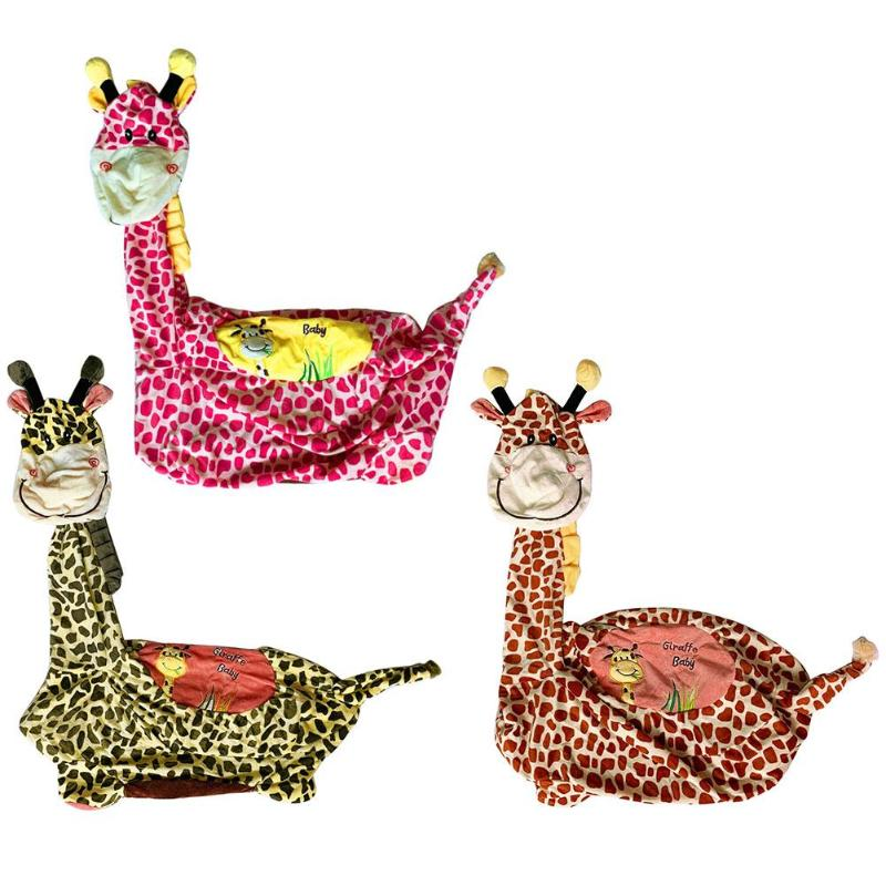 Support Baby Sofa Cover Cartoon Giraffe Baby Seat Learn To Sit Feeding Chair Skin Plush No Cotton Washable Detachable Sofa Cover