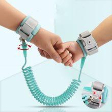 Criança segurança arnês trela anti perdido pulseira cinta ligação tração corda para o bebê da criança crianças outdodr andando cinto ajustável