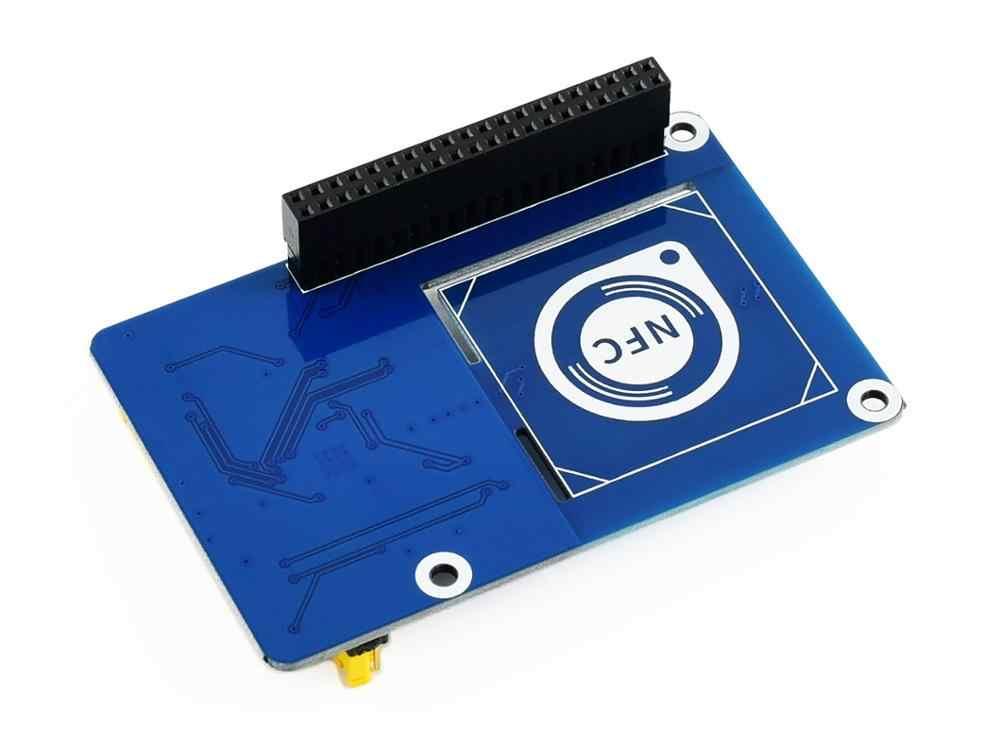Waveshare PN532 NFC CHAPÉU para Raspberry Pi, suporta três interfaces de comunicação: I2C, SPI, UART