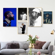 Nipsey Hussle Victory Lap Hip Hop Rap Music Star Canvas Painting Art Decorative Silk Poster Wall Home Decor