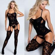 Lencería Sexy para Mujer, disfraces de Porno sensual, lencería erótica transparente de talla grande, lencería erótica
