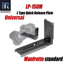 INNOREL LP 150M Universal L Shaped Quick Release Plate Shooting Bracket for Tripod Ball Head and Manfrotto DSLR Cameras