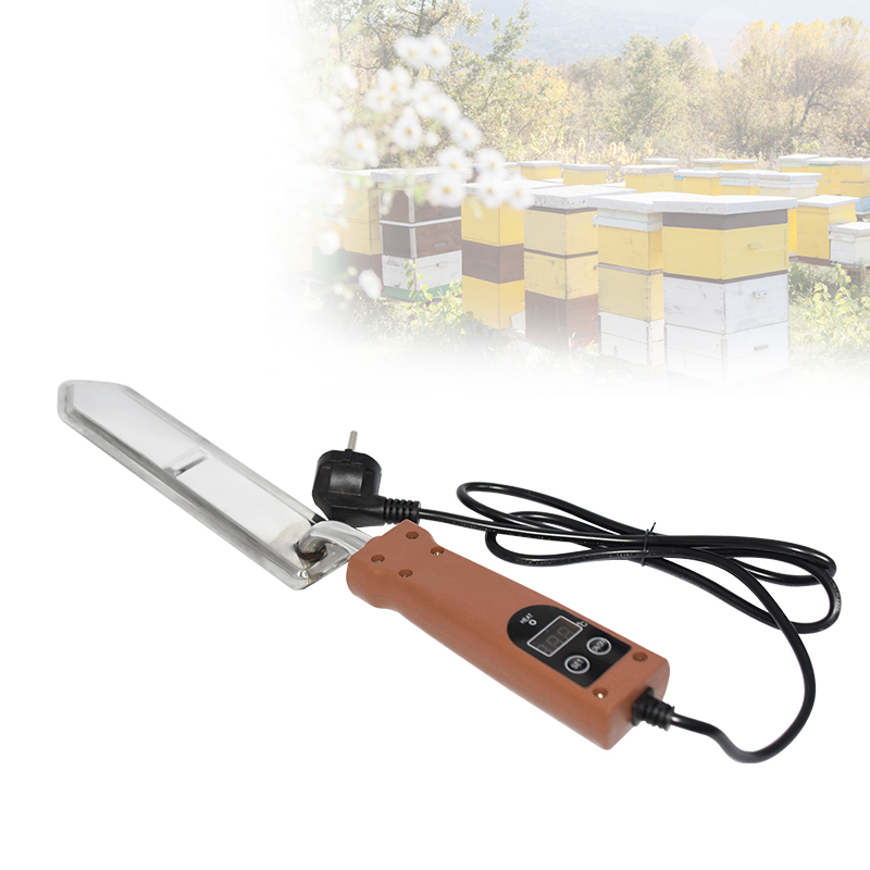Electric Honey Cutter Knife Temperature Control Wax Honey Knife Uncapping Scraper Bee Extractor Beekeeping Tools US/EU/AU Plug