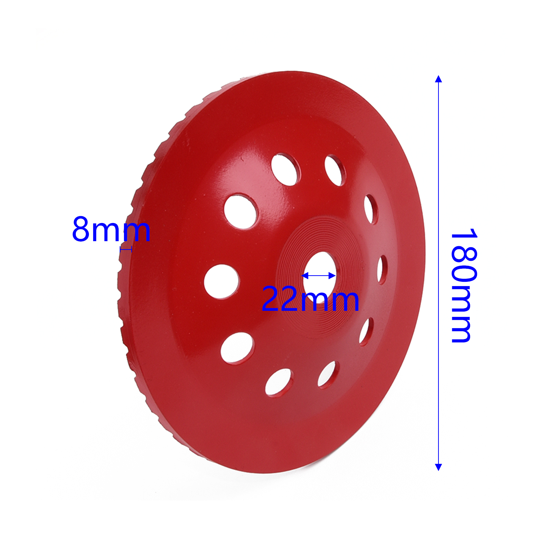"7/""inch 180mm Diamond Segment Grinding CUP Wheel Disc Grinder Concrete Granite"